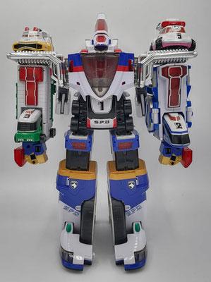 Delta Max Megazord / Super Dekaranger Robo
