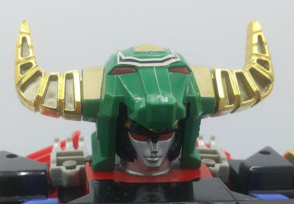 Zeo IV Battle Helmet: Gravity Mode / Horn Head