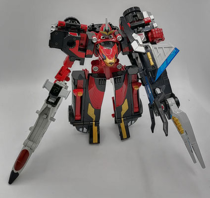 Go-Buster Ace Stag Custom