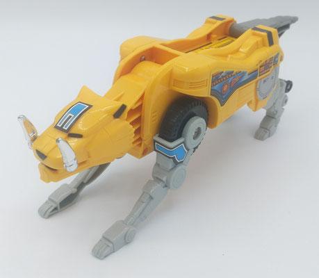 Siber-Toothed Tiger Dinozord / Guardian Beast SaberTiger