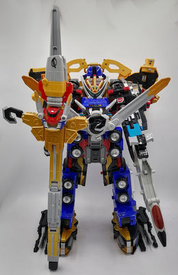 Beast-X Ultrazord / Great Go-Buster