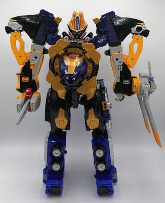 Beast-X King Megazord / Go-Buster LiOh