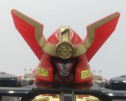 Zeo V Battle Helmet: Warrior Mode / Wing Head