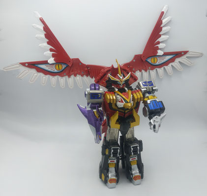 Isis Megazord Predator Mode / New Heavenly Spirit King (GaoIcarus Another Foot & Arm)