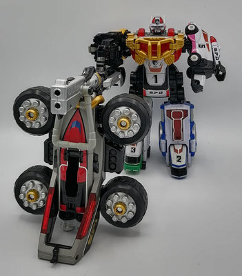 Dekaranger Robo Final Mode