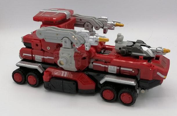 Fire Truck Zord / GoGo Fire