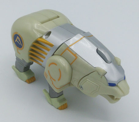 Polar Bear Wildzord / GaoPolar