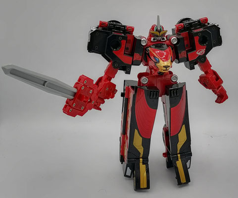 Racer Zord Battle Mode / CB-01 Ace-Go-Buster Ace