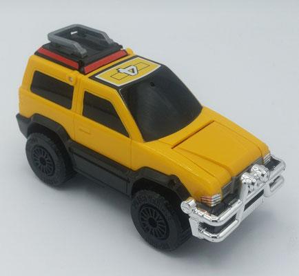 Dune Star Turbozord 4 / Yellow Vehicle