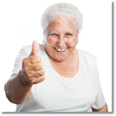 Die emt-Seniorenagentur steht für Lebensqualität