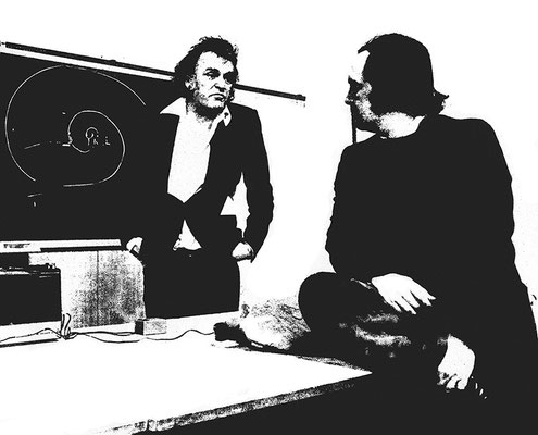 Mario Merz and Gianni Pettena (1974)