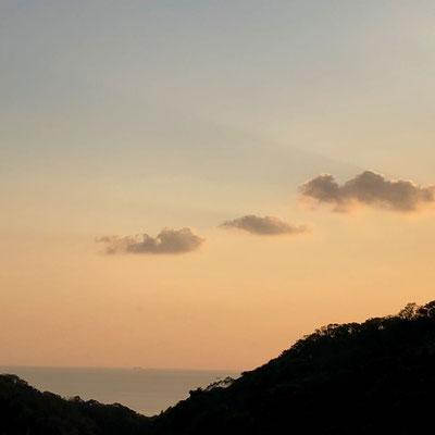 Sunset, Wakayama, (c) 2020 Azumi Uchitani