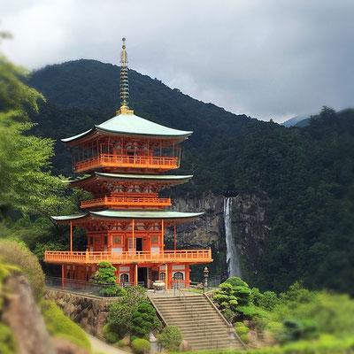 Nachi Falls, Wakayama (c) 2020 Azumi Uchitani