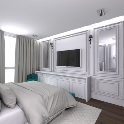 Частный дизайнер интерьера, портфолио, дизайн интерьера квартиры, стиль современная классика