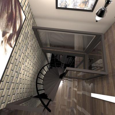 Частный дизайнер интерьера, портфолио, дизайн интерьера пентхаус, стиль лофт в интерьере
