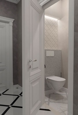 гостевой туалет дизайн