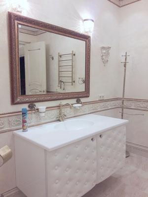 заказать проект ванной в классическом стиле