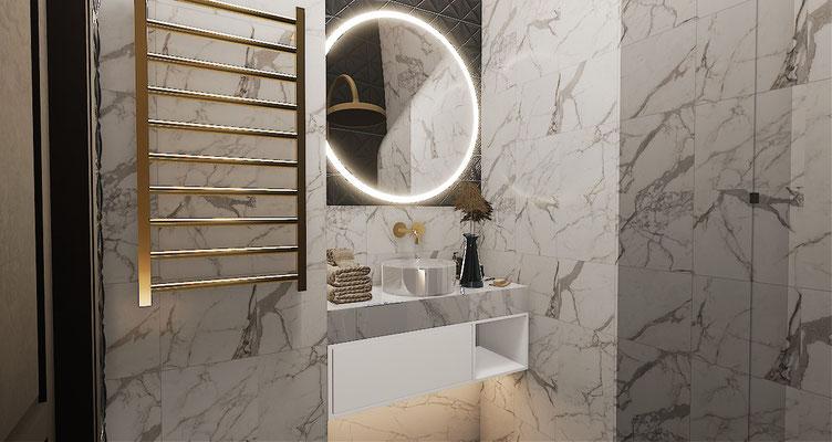 Мебель для ванной комнаты девочки
