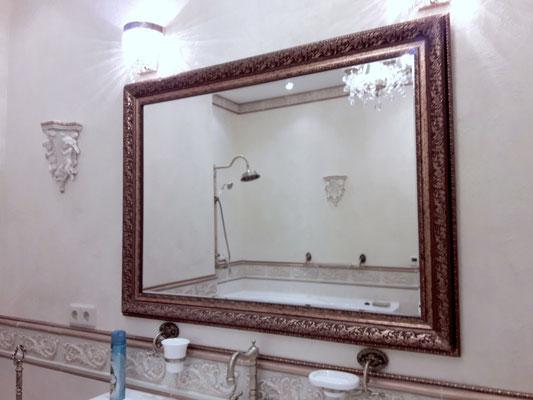 зеркало в багете на заказ