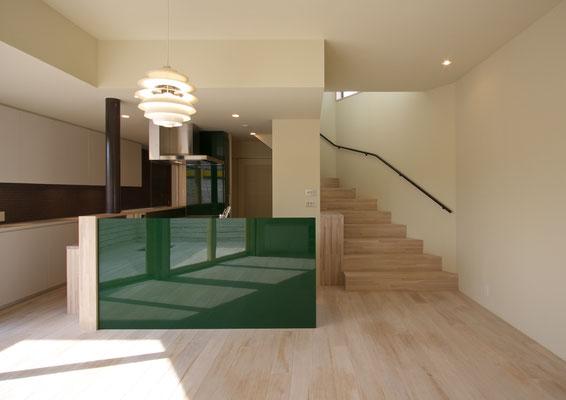 「楽しい階段のある住まい」井の頭の家