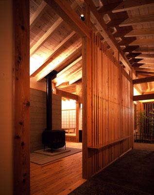 「自然に添う週末和風住宅」那須高原の家