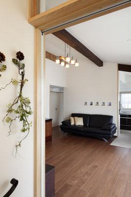 「シンプルな平屋のくらし」狛江の家