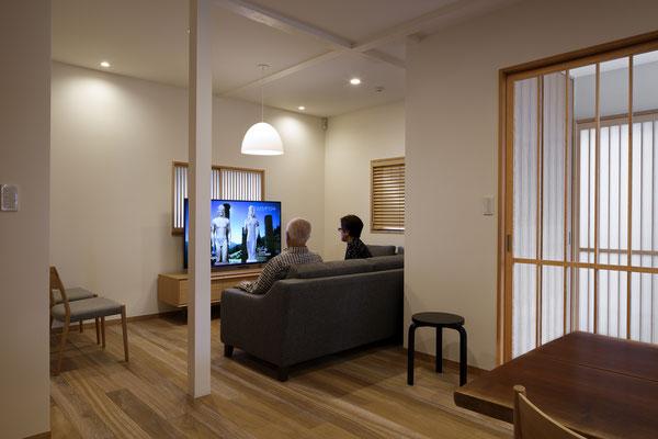 「高齢者の住まい/バリアフリー住宅~寛ぐということ」武蔵野の家  /リノベーション