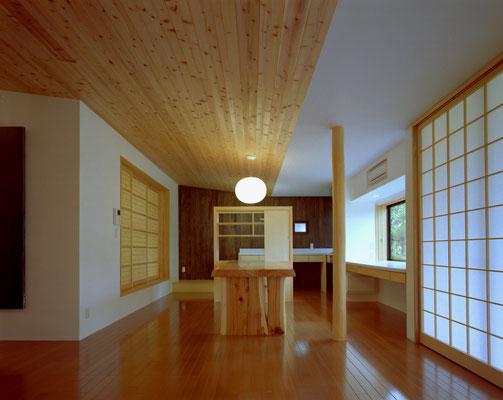 「築45年の木造家屋のバリアフリー改修」久留米の家/リノベーション