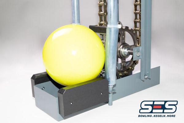 Ball Elevator Bowling SES StringPin String Pin Pinsetter stringpinsetter.com