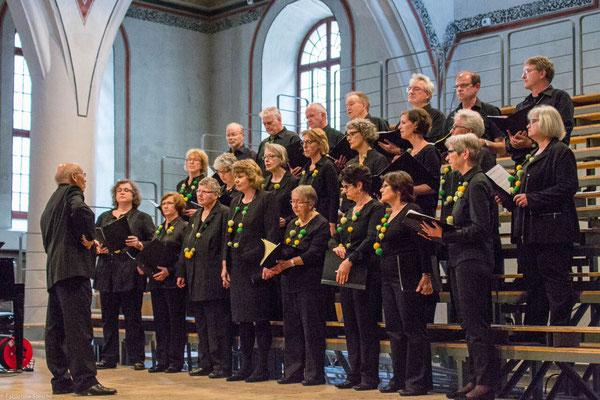 Chor BOLLITT'o misto beim Einzelvortrag