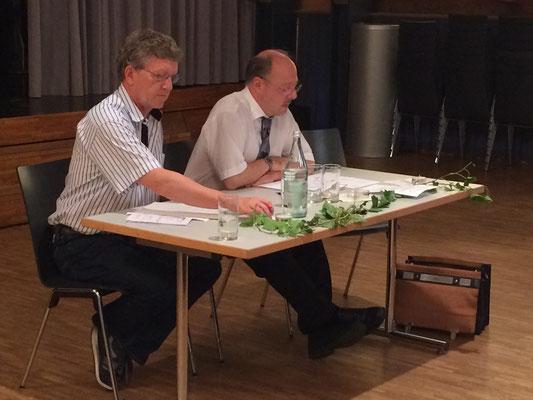 Stefan Nast, Sekretär; Jörg Zeller, Tagespräsident