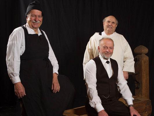 Noldi, Res, Dolf (Peter Hiecke, Peter Kiener, Alfred Keusen)