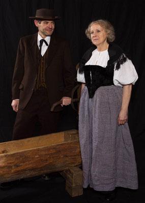 Walter und Marthe (Res Habegger, Bertha Kumme)