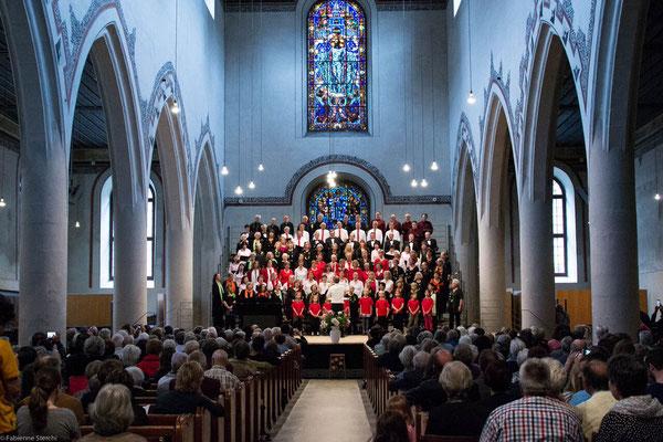 Gesamtchor: Kinderchor Ittigen, Chor BOLLITT'o misto, MELOS CHOR BERN, U-Chor Bern, Chiao-Ai Chor Bern