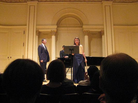 """Carnegie Hall - Casella """"Siciliana e Burlesca"""" con David Revuelta"""