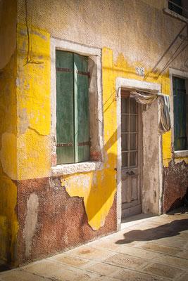 Anke Houdelet: Verlassenes Haus/ Italien