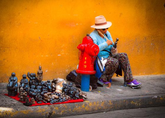Anke Houdelet: Kunst in Cartagena / Kolumbien