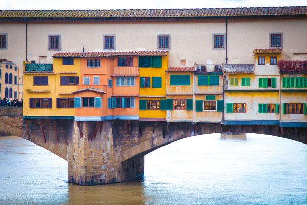 Anke Houdelet:  Ponte Vecchio/ Florenz