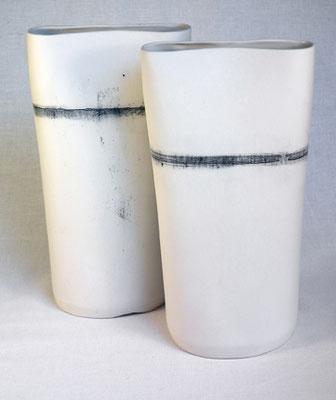 Vase Linea, porzellan
