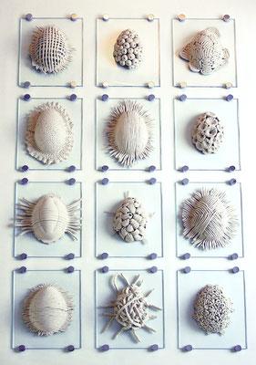 Ovum Keramik Paläontologisches Museum Zaragoza