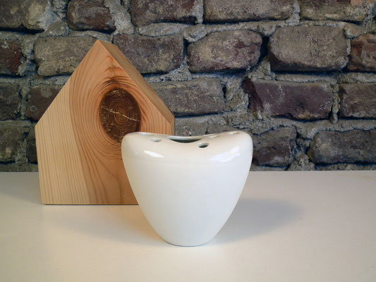 vase weiss porzellan