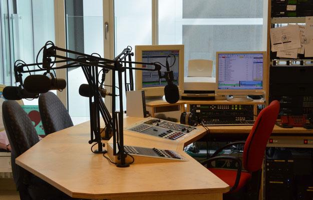 Studio des Radio Rios
