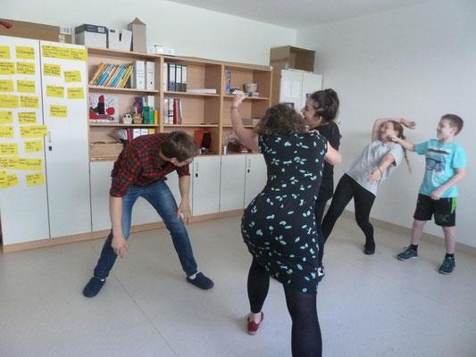Schüler beim Theatersport