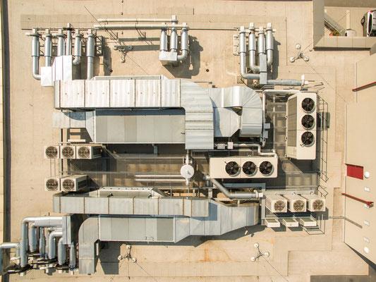 Industriebauanlage