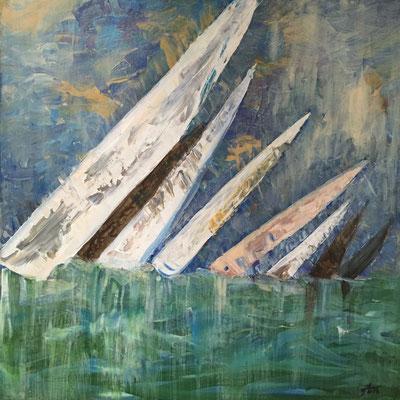 Acryl, 60 x 60 cm, 2016