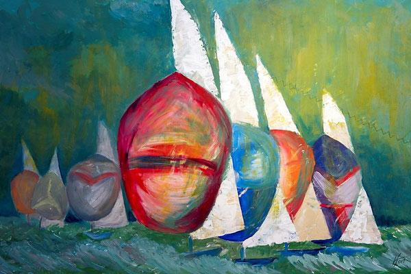 Acryl, 90 x 60 cm, 2016