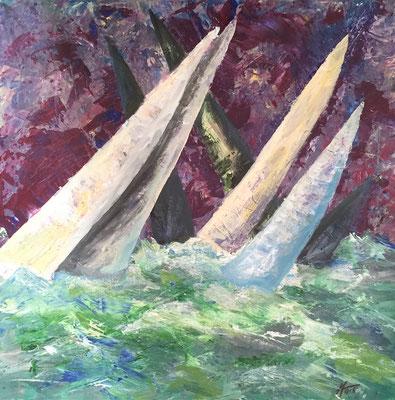 Acryl, 60 x 60 cm, 2012