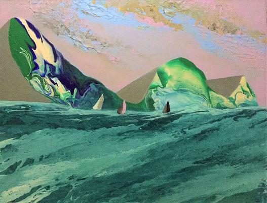 Acryl, 58 x 78 cm, 2018