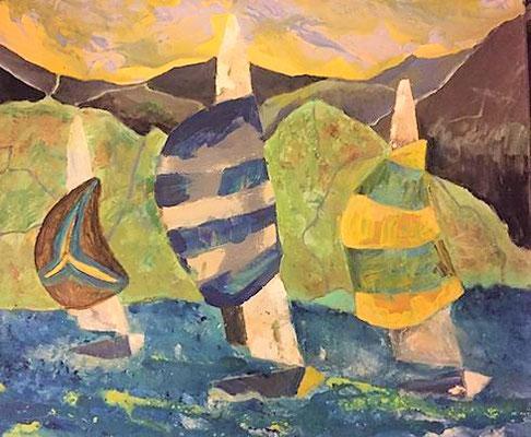 Acryl, 50 x 60 cm, 2017