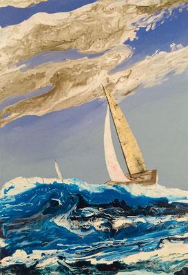 Acryl, 70 x 100 cm, 2020